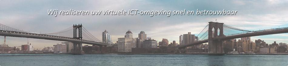 Wij realiseren uw virtuele ICT-omgeving snel en betrouwbaar
